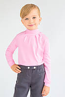 Гольф для девочки розовый