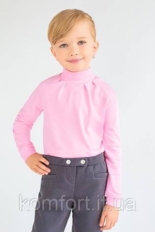 Гольф для девочки розовый, фото 2