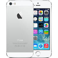 Original Apple iPhone 5S 64Gb Silver Neverlock refurbished, фото 1