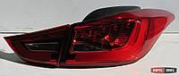 Hyundai Elantra MD оптика задняя красная LED