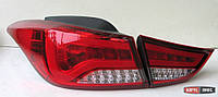 Hyundai Elantra MD оптика задняя красная 100% LED