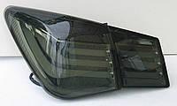 Chevrolet Cruze оптика задняя черная BMW Style