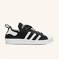 Кроссовки Adidas Superstar Primeknit 80s Black White