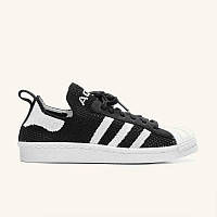 Кросівки Adidas Superstar Primeknit 80s Black White, фото 1