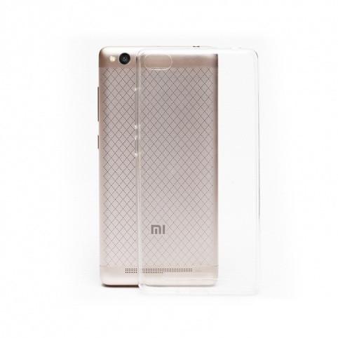 Силиконовый чехол DIGI TPU на Xiaomi Redmi 3 Clean Grid Transparent