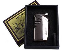 Зажигалка подарочная HONEST (silver) №3228