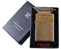 Зажигалка электронная Jim Beam (Gold) №4325