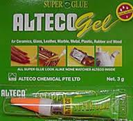 Супер-клей Alteco ГЕЛЬ  (3г.), фото 1