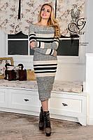 Женское платье облегающее платье-миди Лилу-1
