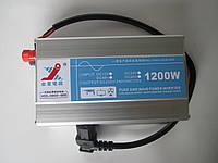Инвертор  1200 Вт чистая синусоида преобразователь напряжения