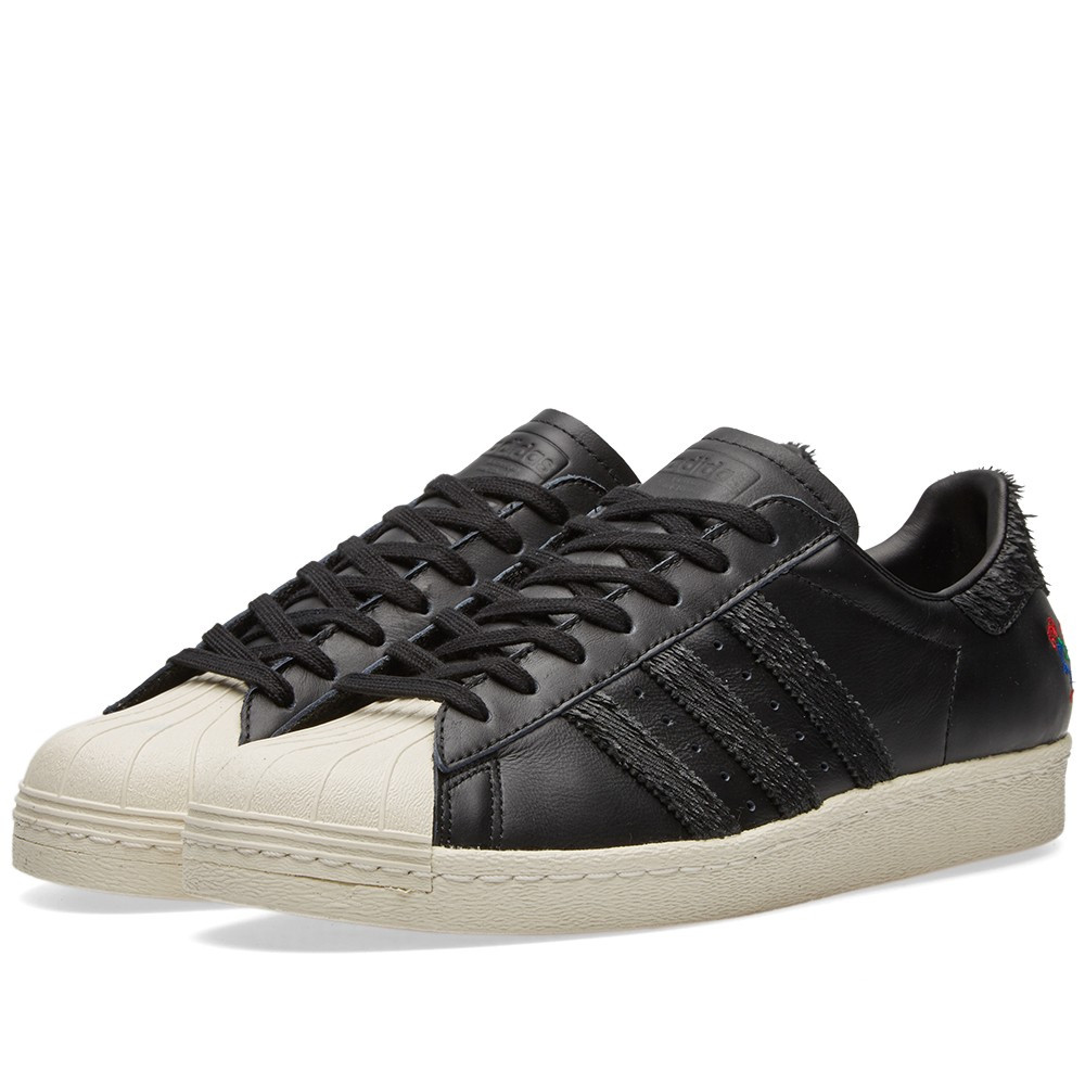 80a02106 Оригинальные кроссовки Adidas Superstar 80s CNY Core Black & Chalk White