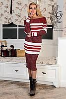 Женское платье облегающее платье-миди Лилу-3