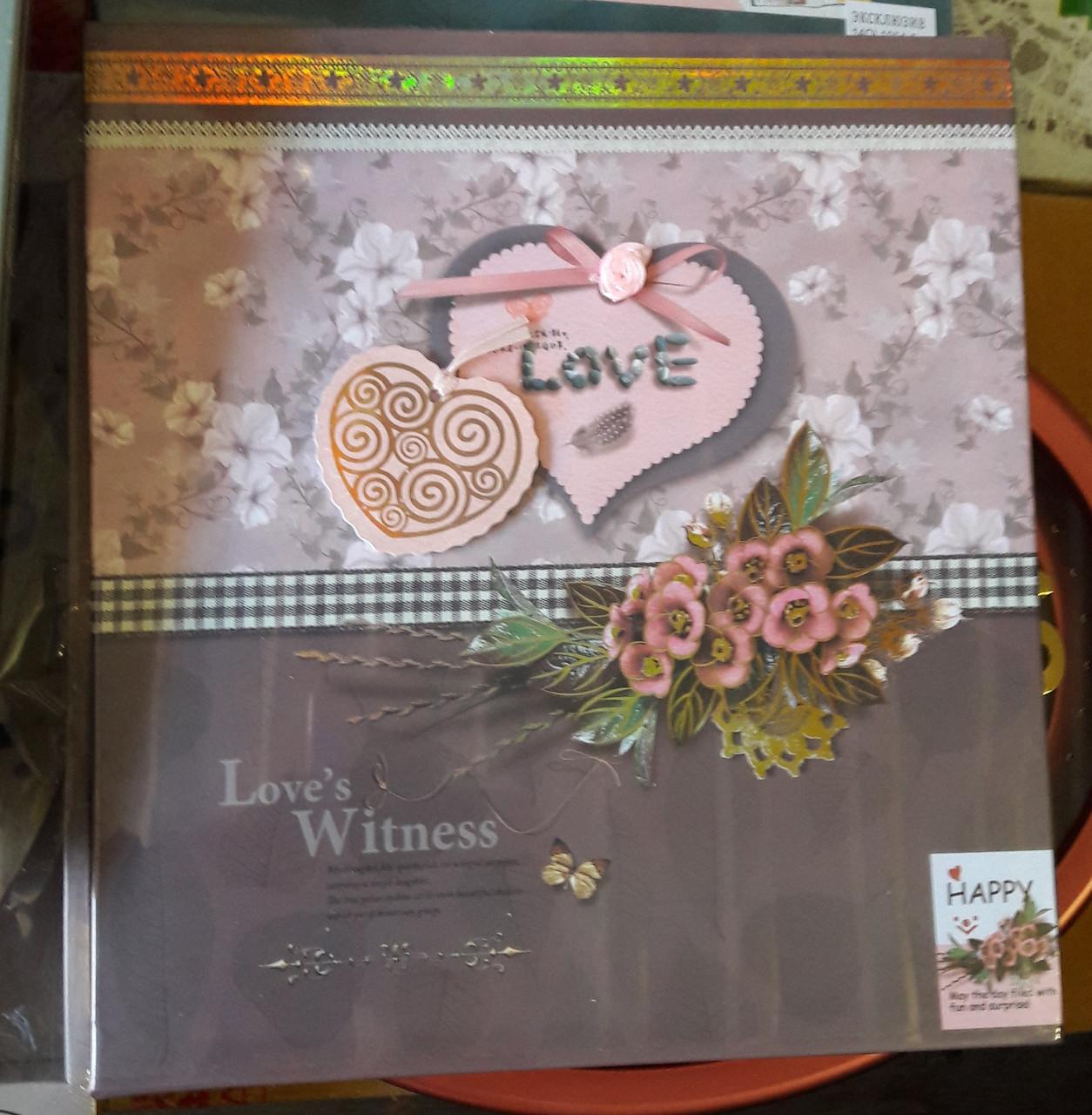 Фотоальбом для влюбленных «Love's Witness»
