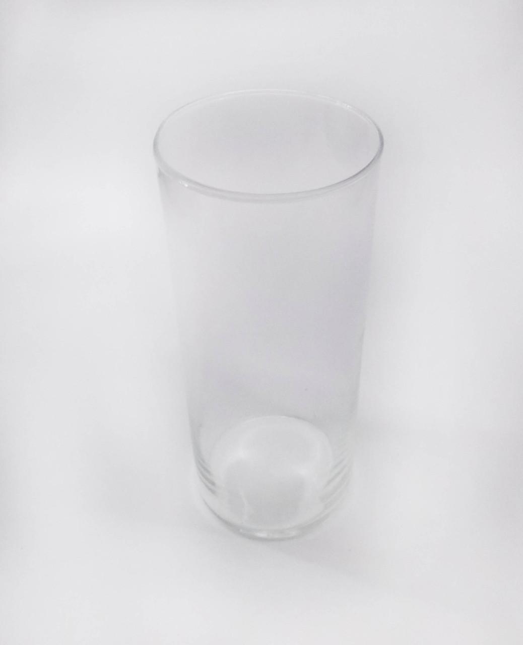 Ваза стеклянная цилиндр 385*120 мм
