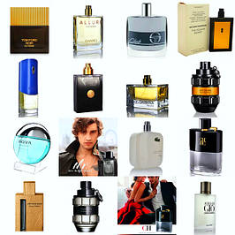 Мужская парфюмерия в тестерах