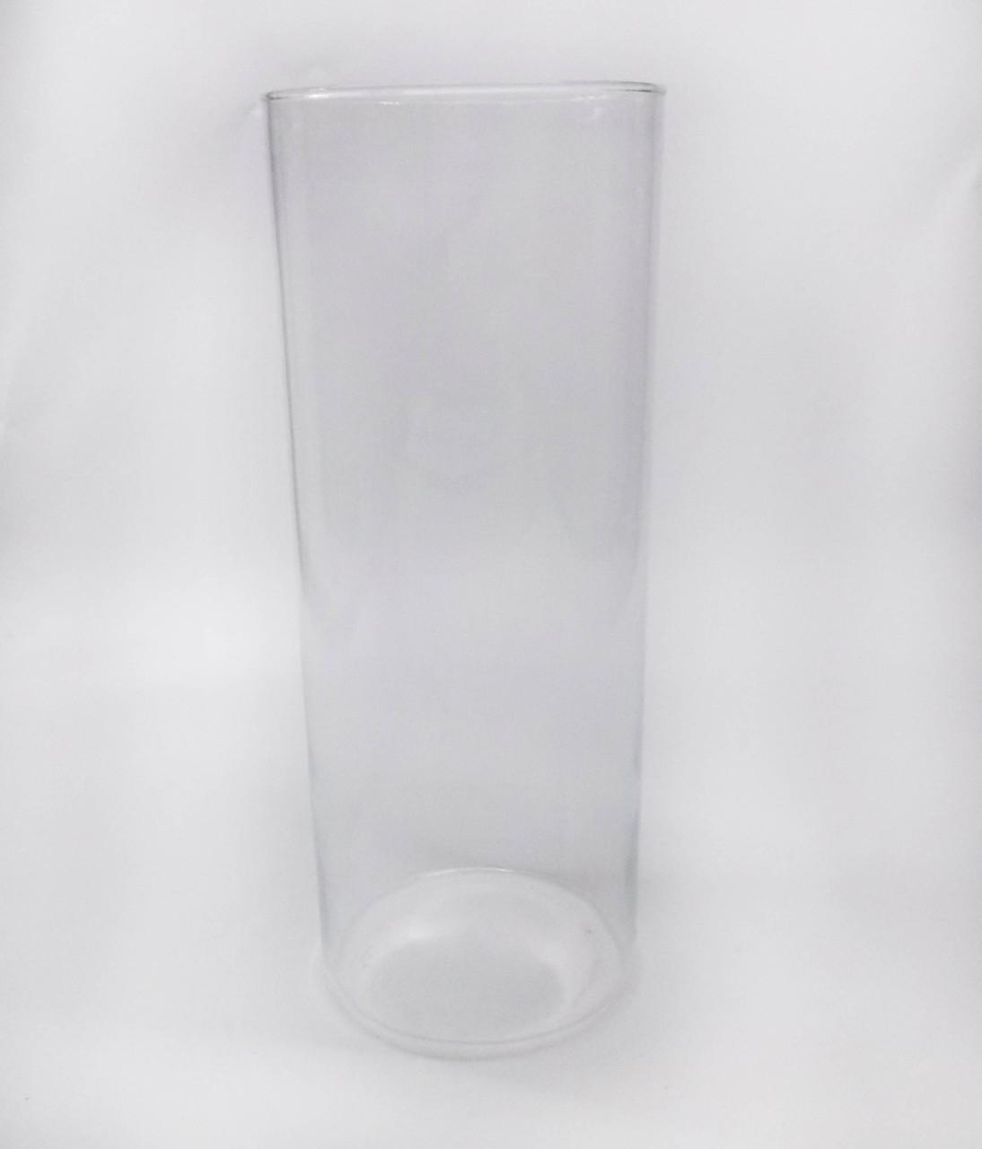 Ваза стеклянная цилиндр