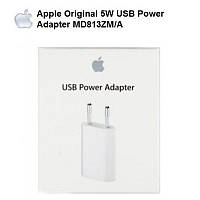 Зарядное устройство Apple 12W USB Power Adapter MD813ZM/A для iPad, iPhone, iPod