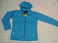Мужская куртка ветровка Jack Wolfskin Ridge Texapore Air Jacket - Waterproof