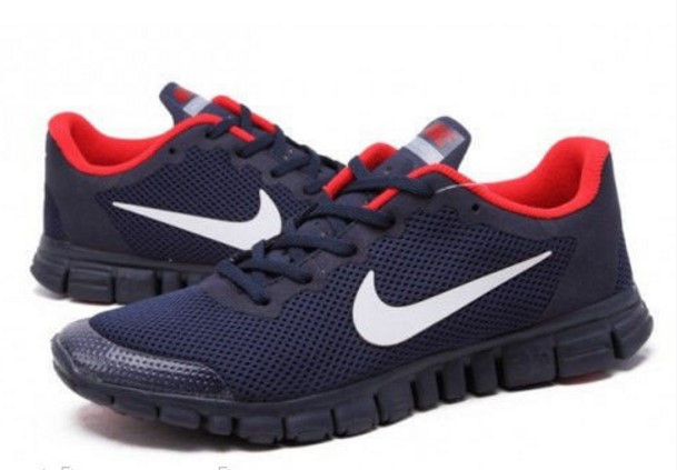 a3180f59 Кроссовки Nike Free Run 3.0 Blue-red мужские беговые кроссовки найк