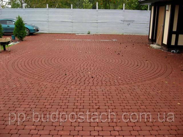 Благоустрій котеджів – укладання тротуарної плитки