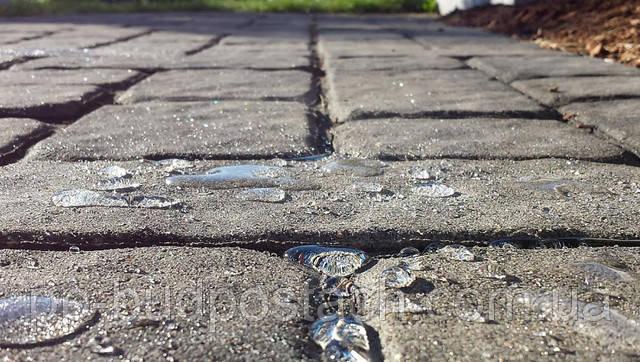 Захист від води для тротуарної плитки