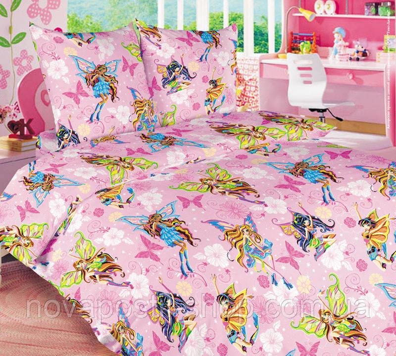 Комплект детского постельного белья Винкс (Волшебницы)