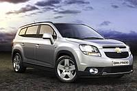Брызговики модельные Chevrolet Orlando (Шевроле Орландо)
