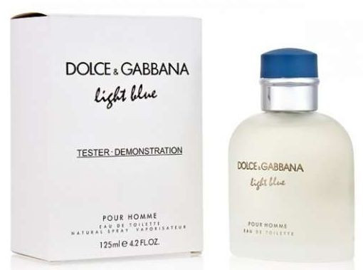 Мужские духи Tester - D&G Light Blue Pour Homme 125 ml