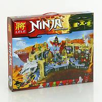 """Конструктор Ниндзяго Самурай Х: Битва в пещерах"""" 1303 дет, Детский конструктор Ниндзя, Ниндзяго для мальчиков"""