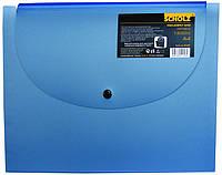 """Папка """"Scholz"""" 13 отделений SOZ-5125 с убираемым клапаном"""