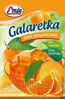 Галаретка (Желе) со вкусом апельсина Emix Польша 79г