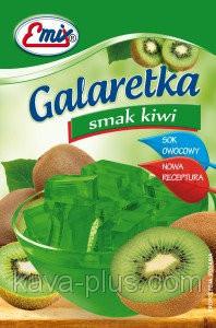 Галаретка (Желе) со вкусом киви Emix Польша 79г