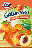 Галаретка (Желе) со вкусом персика Emix Польша 79г