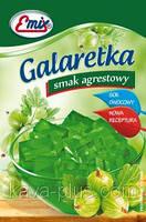 Галаретка (Желе) со вкусом крыжовника Emix Польша 79г