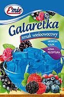 Галаретка (Желе) со вкусом мульти фруктов Emix Польша 79г
