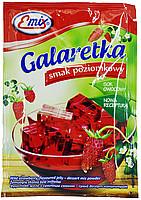 Галаретка (Желе) со вкусом земляники Emix Польша 79г