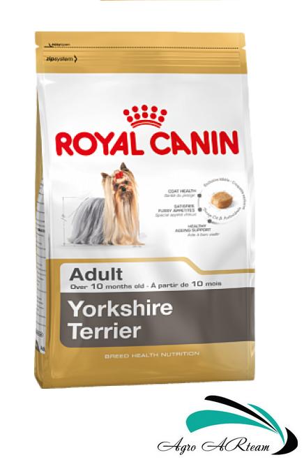 Royal Canin Yorkshire 0,5 кг-корм для собак породы йоркширский терьер ( от 10 месяцев)