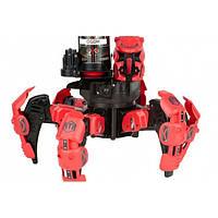 Робот-паук интерактивный на пульте (лазер, диски)