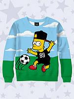 Свитшот Footballer Bart