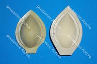 Молд и вайнер лепесток лотоса 6.5*4.5см для фоамирана и глины