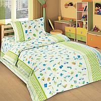 Ткань для детского постельного белья, поплин Городок