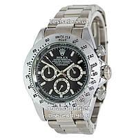 Часы Rolex Daytona silver/black (Механика).