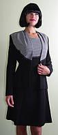 Костюм чёрный с платьем Арт.942
