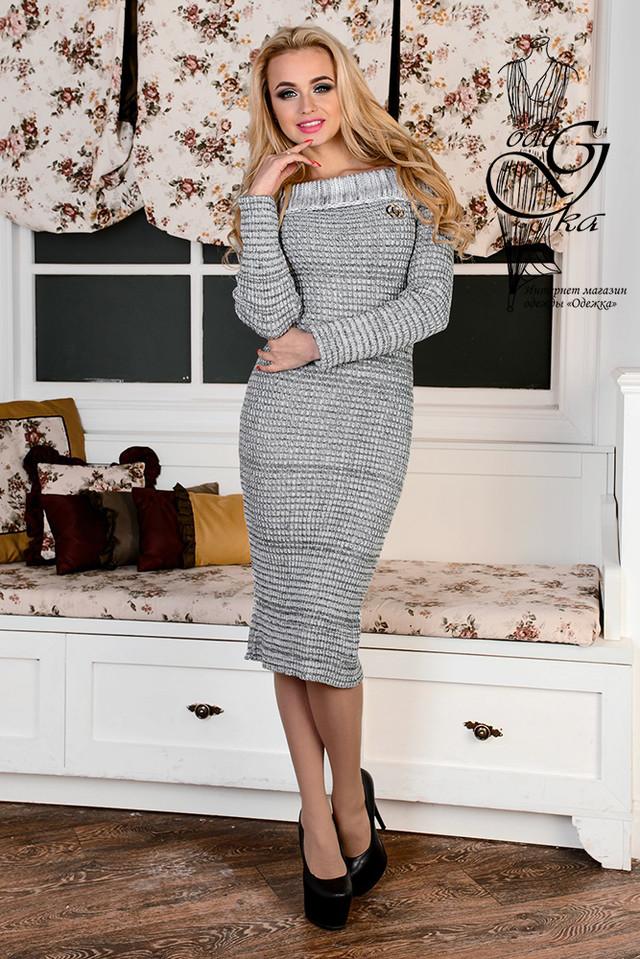 Подобные товары-5 Женского платья облегающего платья-миди Лила-1
