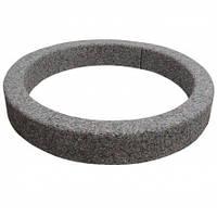 Клумба-бордюр «Кольцо» Мрамор серый