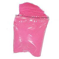 Цветной песок ярко-розовый