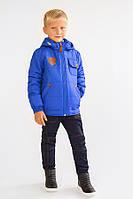 Куртка демисезонная для мальчика Модный карапуз ТМ Синий