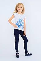 Детские лосины для девочек (синий) Модный карапуз ТМ 98 Синий