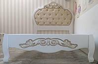 """Кровать детская подростковая деревянная  """"Принцесс"""" kr.pr"""