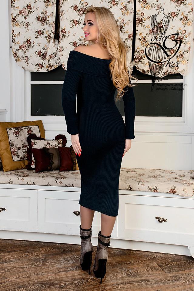Фото-1 Женского платья облегающего платья-миди Лила-1